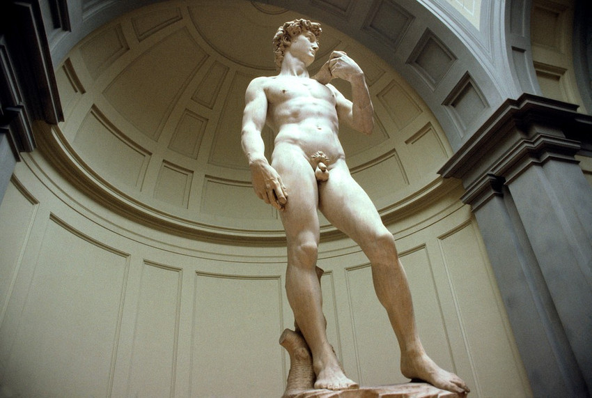 Italy Florence Michelangelo's David, Accademia